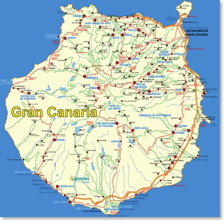 Geografie Und Daten Nepi S Gran Canaria