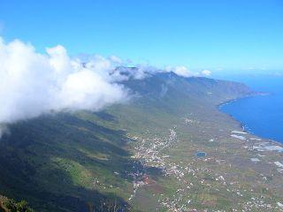 El Hierro: Bricht die Lava vor oder auf der Insel aus? Foto: Wikipedia
