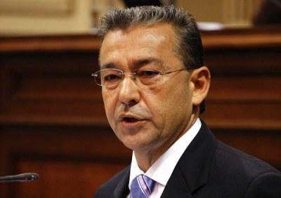 Präsident Rivero ist wütend. Quelle: Wikipedia