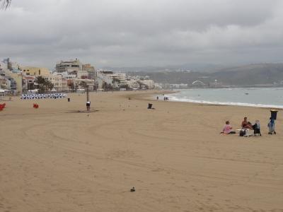 ... Sand in Massen in Las Palmas.