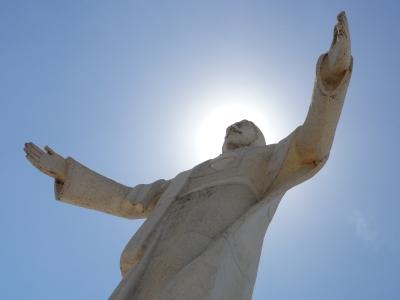 Jesus-Statue in Artenara