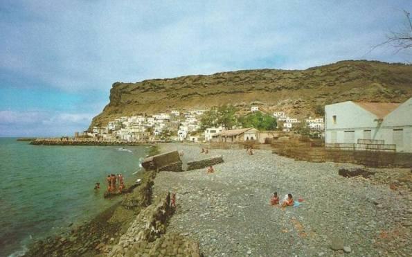 Playa de Mogan Ende der 1960er Jahre.