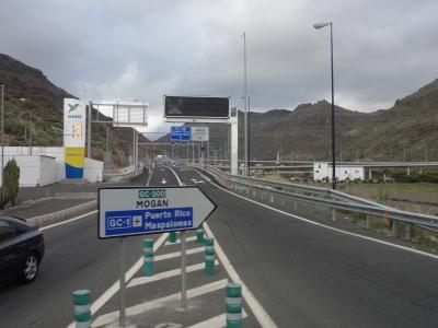 Die Anbindung ist durch die neue Autobahn perfekt - Mogán will endlich durchstarten.