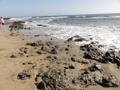 In Maspalomas wird der Sand immer knapper.