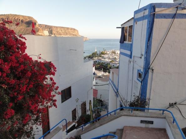 """Auch in Puerto de Mogan werden, vor allem in der Altstadt, viele Wohnungen und Häuser """"illegal"""" vermietet."""