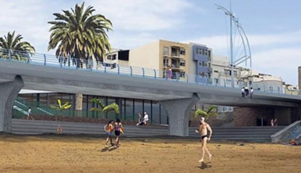 So wird es künftig am Freizeitzentrum aussehen.