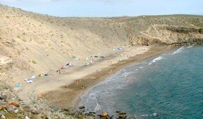 Der FFK-Strand Playa de la Montaña de Arena.
