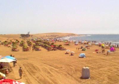 Maspalomas heute Mittag am Strand...