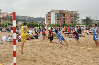 Beach-Handball. Foto: Wikipedia